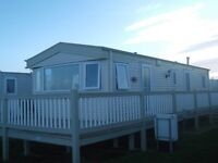 CARAVAN AT CRIMDON DENE WITH BEAUTIFUL SEA-VIEW 5MINS FROM COMPLEX FREEVIEW TV IN EVERY ROOM
