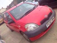 Toyota Yaris moted 450 no offers