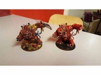 2 chaos hellbrutes (with multimeltas)