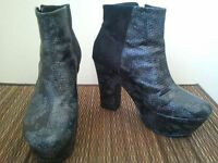H&M & Christian Siriano brand pumps and boots (SZ 7-8)