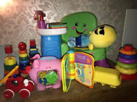 *Large Toy Bundle Baby or toddler ,Fisher Price, Melissa & Doug, Brio, vetch