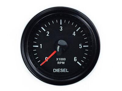 Diesel Drehzahlmesser Lichtmaschine Zusatzinstrument 52 Retro Instrument Anzeige
