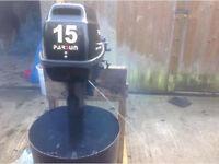 Parsons 15hp short shaft set up for remotes or tiller