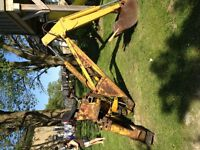 Backhoe Attachment for Bobcat or Massey Tractor
