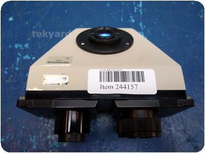 Olympus  Binocular Stereo Zoom Microscope Head 244157