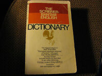 THE SCRIBNER-BANTAM ENGLISH DICTIONARY - PLUSIEURS DICTIONNAIRES Laval / North Shore Greater Montréal Preview