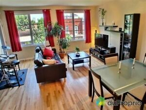 Bright 4 1/2 condo for rent in Saint-Henri