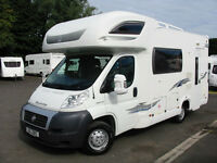 5-BERTH MOTORHOME WITH LOW MILEAGE