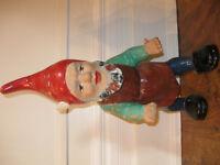W German Antique Gnome RARE 21 inch