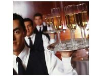 Waiters, Butlers & Head Waiters for hire weddings, house/birthday parties or corporate events.