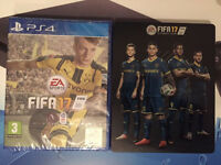 FIFA 17 - STEELBOOK EDITION - BRAND NEW AND SEALED FOR PLAYSTATION 4 PS4