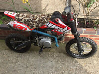 WPB 120 2016 Mint Pitbike Dirtbike Crosser Pit Bike 4 stroke Off Road Bargain stomp demon quad cash