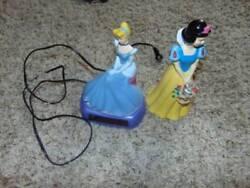 GUC-Girls Kids Disney Cinderella Night Light Alarm Clock & Snow White Bank