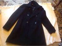 Ladies coat used size: 12/38 used £2