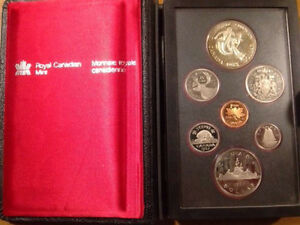 1983 Canadian Mint Coins