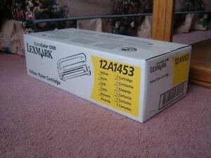 FOR SALE: Lexmark 12A1453 Optra Color 1200 Yellow Toner