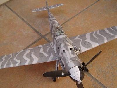 Modelik 17/06 -  Messerschmitt Bf-109 G8 mit Lasercutteilen   1:33