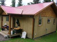 Smithers BC secluded mountain top property.