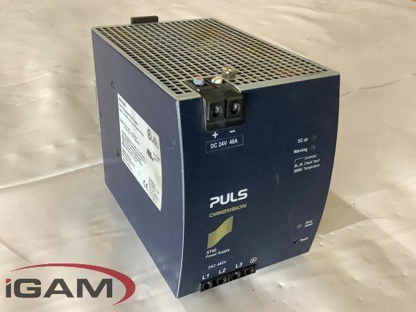 PULS Dimensions XT40.242 Power Supply
