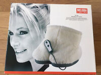 Massaging foot warmer, Melissa, brand new and boxed