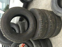 265 70 17 Goodyear Wrangler Tires Set of , nice condition