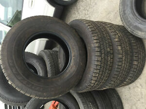 265 70 17 Goodyear Wrangler Tires Set of 4 - Many sets Available