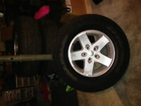New 2014 Jeep Wrangler Sport Tires/Rims for Sale (P255/75R17)