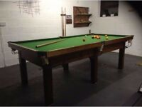 Snooker & Pool Table - Traditional 8 ft
