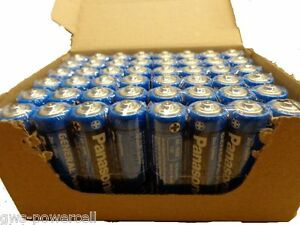 48 x Panasonic AA Batterien Mignon Zink Carbon R6 lose - eingeschweißt NEU UM3