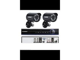2 camera complete CCTV system - brand new in box