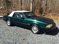 1990 mustang 5.0L convertible 7up special