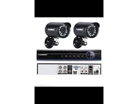 2 Camera HD CCTV System supplied and fitted for £350