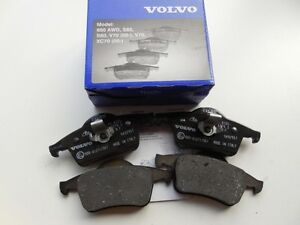 VOLVO S60 S70 S80 V70 XC70 1999-2008 Rear Brake Pad Set OEM