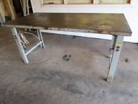 Shop tables coming up for auction