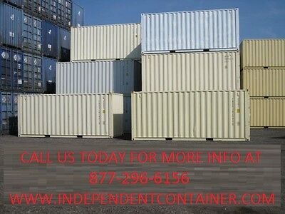 New 20 Shipping Container Cargo Container Storage Container In Chicago Il
