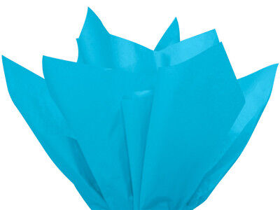 "Turquoise Tissue Paper 960 Sheets 15x20"" Christmas Holiday Weddings Gifts Decor"