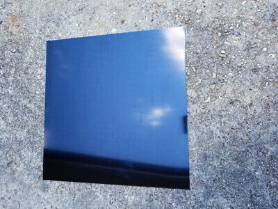 6 X 6 Black .025 Color Anodized Aluminum Sheet Metal 22 Gauge Cnc Plate