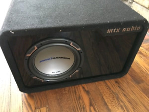 "10"" mtx subwoofer MINT"