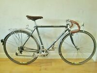 Raleigh Ranndoneur (Reynolds 531ST)/Rare Brooks+Shimano Deore DX group/vintage road/tour bike