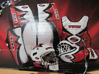 TPS SUMMIT Complete Street Hockey Goalie Set , Size: Youth - S
