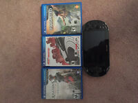 PS Vita and four games