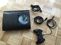 PS3 - 500GB - 1 controller - HDMI cable - Still new