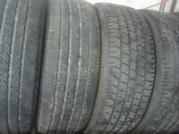 215/60R 16 (4 tires) pair of michelin  and pair of goodyear