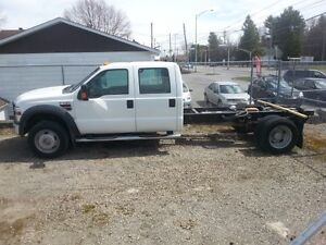 2008 Ford F-550 XLT CREWCAB CHASSIS 4X4 DIESEL