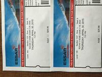 2 Adult Soo Greyhound Tickets - April 30th