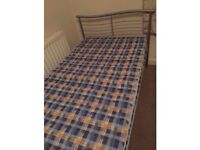 Single bed with mattress-Free delivery