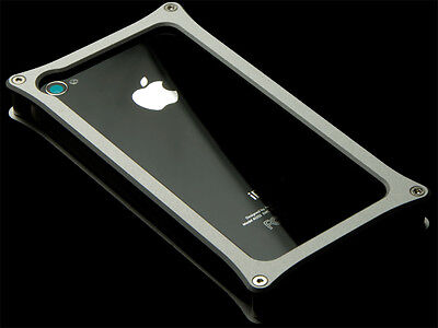 Abee Aluminum Jacket For iPhone 4 Category 03 Silver
