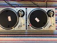 Technics 1210 1200 mk5 pair