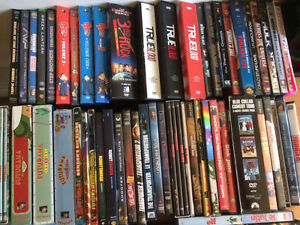 ASSORTED DVDs A TOONIE EACH SERIES OR NOT