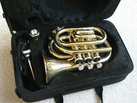 TRUMPET NEW $179.00 includes $20.00 music stand